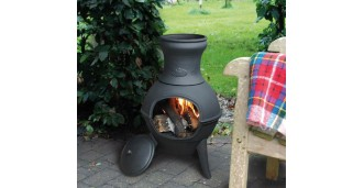 terrasverwarming met vuur