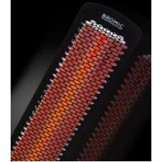 Terrasverwarming TUNGSTEN zwart smart-heat 3000w ELECTRIC