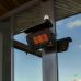 Bromic Terrasverwarming | Zwart Tungsten Smart-Heat 500 Muurmodel