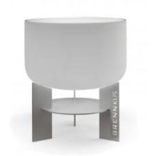 duitse glashaard 50cm inox onderstel
