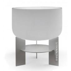 duitse glashaard 60cm inox onderstel